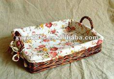 Retângulo marrom de vime cesta de pão com alça( fornecedor da fábrica)-Bandejas de armazenamento-ID do produto:284275088-portuguese.alibaba.com