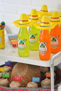 Cinco De Mayo Mexican Fiesta by Kara Allen | Kara's Party Ideas | KarasPartyIdeas.com favors, decor, DIY ideas, recipes and more!
