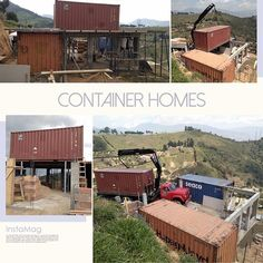 So the crazy 😜 idea of building container homes in Colombia 🇨🇴 has come to fruition. The land here is vast. Imagine implementing a 🚧 project 🏗 and constructing an entire community of these homes 🏡. Soon and very soon...God 🙏🏽 willing and the Creek don't rise. Stay Tuned 📺‼️ #medellin #colombia #container #containerhome #airbnb #innclusive #casa #belen #home #homesweethome #southamerica #sustainableliving #sustainablefashion #retirement #view #sightseeing #nomad #travelgram…