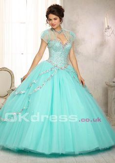 Sequin Ball Gown - by OKDress UK