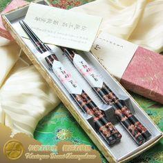 Raden Wakasa Nuri Bashi (mother of pearl lacquered chopsticks) Meisho Wakasa Zen (legend artisan Wakasa pair of chopsticks) Joren Murakumo two pairs