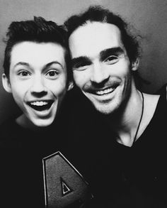 Troye Sivan and Louis Cole