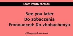 Sms Language, Language Lessons, Polish Christmas Traditions, Polish Alphabet, Learn Polish, Polish Words, Polish Language, Say Bye, Genealogy