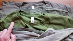 Olive Green T Shirt, Sustainable Fashion, Tee Shirts, Sweatshirts, Sweaters, Cotton, Fashion Trends, T Shirts, Tees