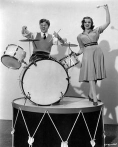 """Mickey Rooney & Judy Garland - for """"Strike Up the Band"""""""
