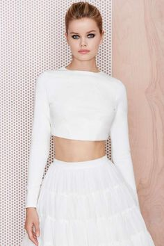 M.A.C x Nasty Gal Stunner Crop Top - Cropped | Tops | Tops