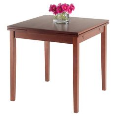 Pulman Extension Table Wood/Walnut - Winsome : Target