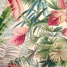 New Nordic Pink Flamingo Flower Diamond Painting – What's Hot On Top Art Tropical, Motif Tropical, Tropical Pattern, Tropical Flowers, Tropical Plants, Flamingo Flower, Deco Nature, New Nordic, Tropical Wallpaper
