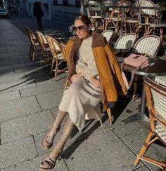 "Géraldine Boublil on Instagram: ""all @miumiu -ed up for SS22 show today🐻"" Sheepskin Coat, Miu Miu, Shirt Dress, Instagram, Shirts, Dresses, Fashion, Vestidos, Moda"