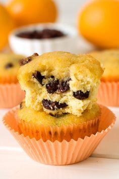 Cranberry Orange Muffins (grain-free, dairy-free)