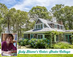 Judy Blume's Cedar-Shake Cottage in Martha's Vineyard