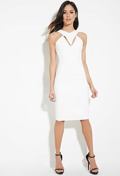 Cutout Bodycon Dress   Forever 21 - 2000169675