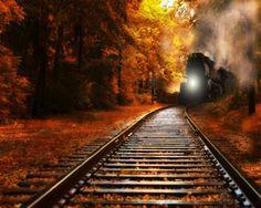 Comin' down the tracks