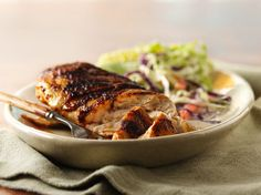 All-American BBQ Rubbed Chicken