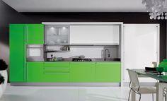 50 ideas de cómo combinar los colores en la cocina - Cocinas con estilo Miro, Modern Kitchen Design, Kitchen Designs, Contemporary Design, Kitchen Cabinets, Storage, Furniture, Home Decor, Kitchens
