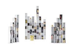 Uptown 7 Shelves Bookshelf by Lapo Ciatti for Opinion Ciatti | Space Furniture