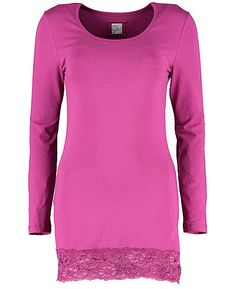 Deerberg Longshirt Joy, rotkohl - T-Shirts - Deerberg