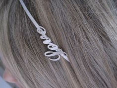 Love Headband by wynbrit on Etsy, $10.00