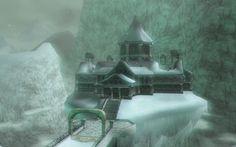(Snowpeak Ruins) -- inspiration for ancient mountain civilization