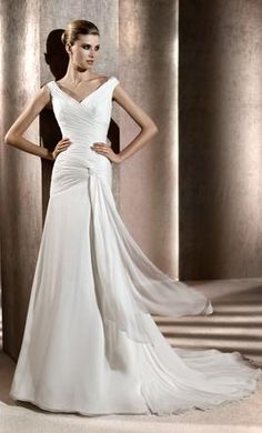 Pronovias Bahia, find it on PreOwnedWeddingDresses.com