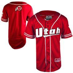 Colosseum Athletics U of U Athletic Logo Baseball Jersey