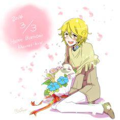 Happy Birthday Kazuaki-kun (March 3 is original Kazuaki's birthday!)
