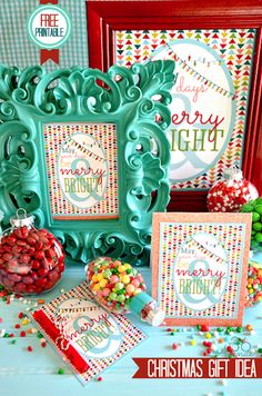 An integral part of my holiday season is using printables for decor, gifts and more. Download this collection of 20 free Christmas printables you'll love!