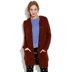 """Reminds me of my old """"Ewok"""" sweater. LOVE the entire look."""
