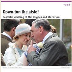 downton abbey series 6 carsons wedding