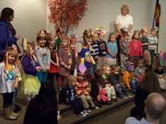 "The Child Development Center's ""Turkey Trots"" sing their favorite Thanksgiving songs (fall 2012)"