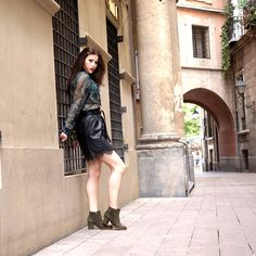 Leather Skirt, Skirts, Fashion, Fall Winter, Moda, Leather Skirts, Skirt Outfits, Fasion, Skirt
