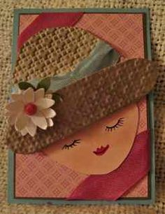 ATC Hat Inspired by Linda D by ruby-heartedmom - Cards and Paper Crafts at Splitcoaststampers