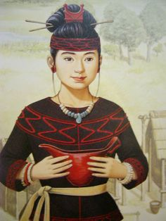 A woman in Jomon period