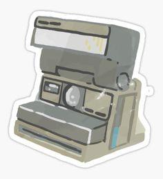 Max's Camera Sticker