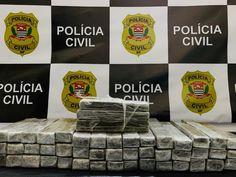 Polícia Civil detém homem e apreende 48 tijolos de maconha em Mogi Mirim