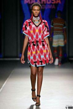 Maxhosa Laduma@ Mercedes Benz Fashion Week in Johannesburg SS17