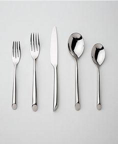 "Nambe ""Frond"" 5-Piece Place Setting #cultivateit #kitchen"