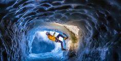 Aiguille du midi - #iceclimbing