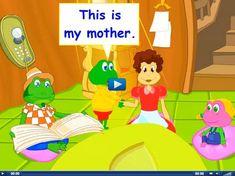Engels leren aan kleuters met het digibord , kleuteridee.nl . this is my mother…
