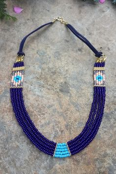 Stoneage ∙ Aksesuar – Tasarım Kolye indirimle ile Trendyol… - DIY and Crafts 2019 Seed Bead Necklace, Seed Bead Jewelry, Bead Jewellery, Diy Necklace, Diy Earrings, Beaded Jewelry, Jewelery, Jewelry Necklaces, Handmade Jewelry