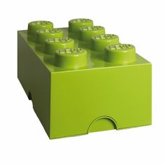 Lego Kids Storage Box No 8 : These handy storage bricks come in classic LEGO colours. Perfect for storing toys and a great accessory for kids bedrooms.