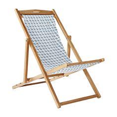 Captiva Sling Chair – Chambray | Serena  Lily