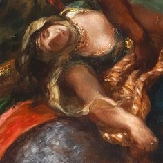 """See details of works in the collection related to """"Defeated"""" on our """"One Met. Many Words."""" interactive feature.   Eugène Delacroix (French, 1798–1863)."""