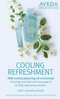 Experience new Cooling Balancing Oil Concentrate in two ways: a large 50ml bottle and a rollerball. You can experience its cooling relief anywhere you are, and even apply it to your whole body.