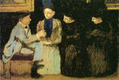 Fan account of Edouard Vuillard, a Franch painter and printmaker. Maurice Denis, Pierre Bonnard, Edouard Vuillard, Felix Vallotton, Art Populaire, Painting People, Post Impressionism, Art Database, French Artists