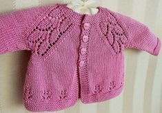 Knitted baby and child sweater patterns - - Knitting, Crochet Love Baby Knitting Patterns, Baby Cardigan Knitting Pattern, Knitted Baby Cardigan, Knit Baby Sweaters, Baby Pullover, Knitting Blogs, Knitting For Kids, Baby Patterns, Hand Knitting
