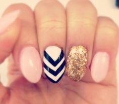 short almond stiletto nail