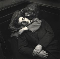Couple Sleeping - Ed Van Der Elsken - 1953