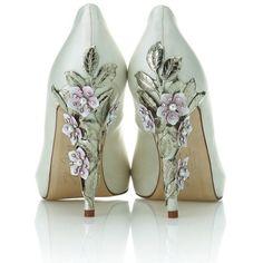 Exclusive Harriet Wilde bridal shoe