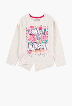 Camiseta malha elástica para menina - Boboli